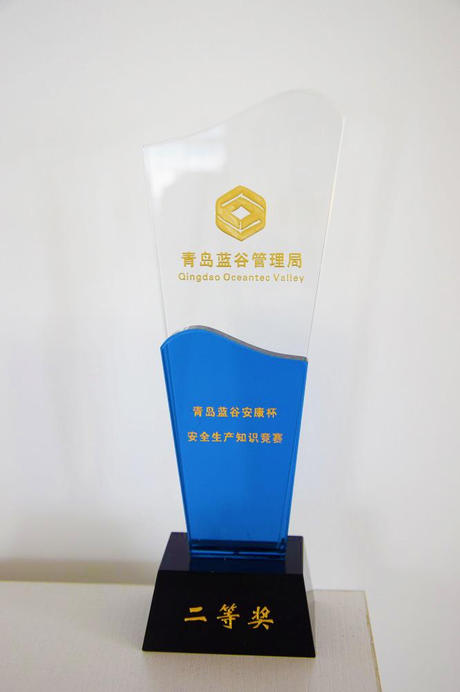 第一届安康杯安全生产知识竞赛二等奖